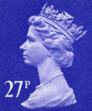 27p Discount GB Postage Stamp